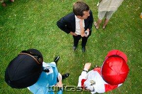 Peter Schiergen und Jockeys © turfstock.com