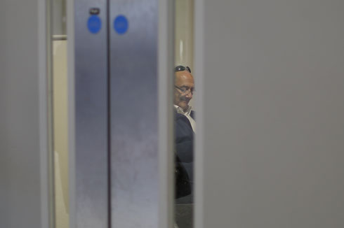 09.03.2015 - London-Heathrow; Michael Luxenburger behind Door Z. Credit: Lajos-Eric Balogh/turfstock.com