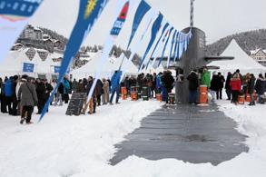 White Turf St. Moritz: Uboot in St. Moritz geortet