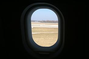 Blick aus dem Flugzeug. © turfstock.com