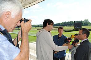 Geschäftsführer Benedict Forndran im Interview