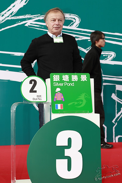 08. Dec. 2011 - Sha Tin Racecourse; Trainer Freddy Head during the barrier draw for the Cathay Pacific International Races. Credit: Lajos-Eric Balogh/turfstock.com