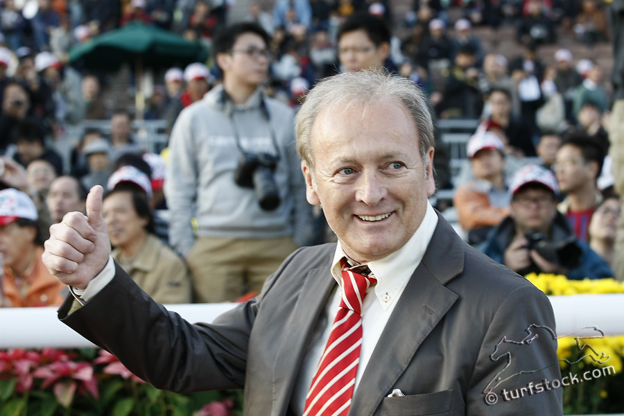 11. Dec. 2011 - Sha Tin Racecourse; Werner Heinz (sportmanager and racehorse owner}) in portrait. Credit: Lajos-Eric Balogh/turfstock.com