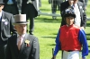 Anspannung vor dem Rennen: Jens Hirschberger und Adrie de Vries vor dem Prince of Wales Stakes in Ascot, 16. Juni 2010. Foto: Rolf C. Hemke