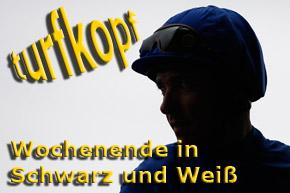 Hemke Label schwarz-weiss 2011 © turfstock.com/Balogh