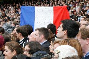 Symbolfoto Frankreich Fahne 2009. © turfstock.com
